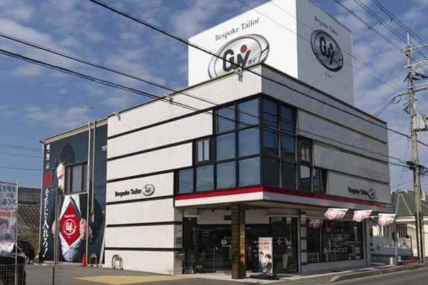 滋賀県大津市のショールームでオーダースーツをご注文
