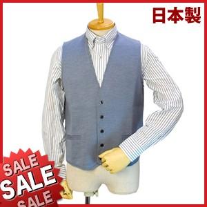 【秋冬物】Bespoke Tailor GUY ウール100%ベスト/ジレ