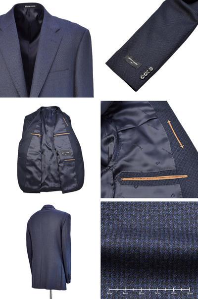 【秋冬物】pierre cardin シングル2Bジャケット