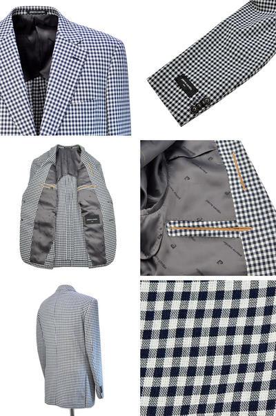 【春夏物】pierre cardin シングル2Bジャケット