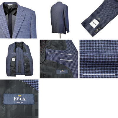 【春夏物】renoma シングル2Bジャケット