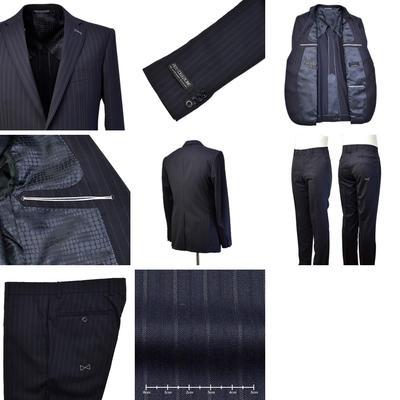 【春夏物】FICCE COLLEZIONE シングル2つボタン美脚スーツ
