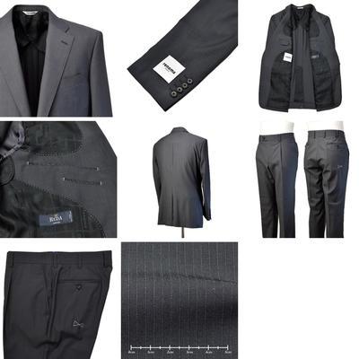 【春夏物】renoma PARIS シングル2つボタンスーツ
