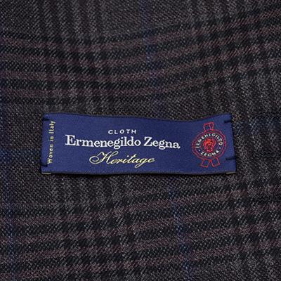 【秋冬物】Ermenegildo Zegna 2Bシングルジャケット