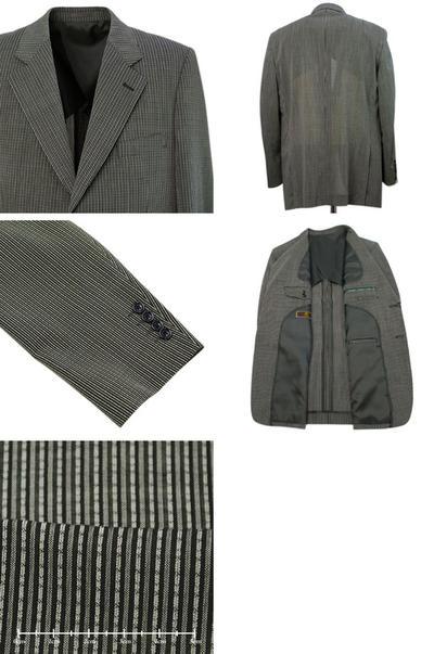 【春夏物】pierre cardin シングルジャケット