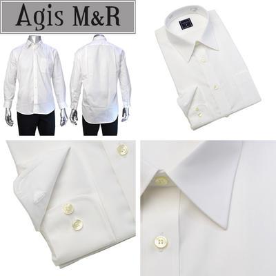 Agis M&R レギュラーカラードレスシャツ/Yシャツ