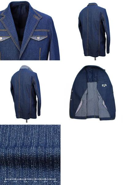 【春夏物】PAGELO シングル2Bデニムジャケット