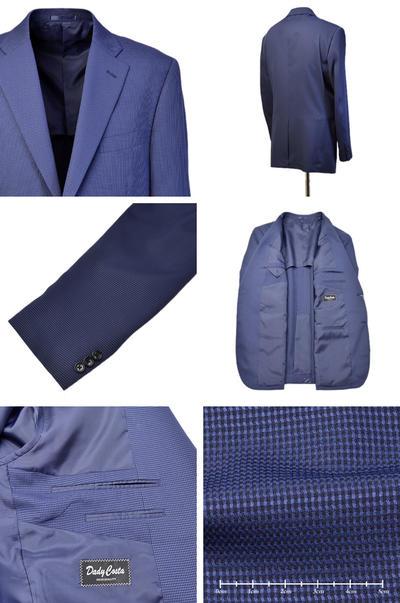 【春夏物】Bespoke Tailor GUY COOLMAX シングル2Bジャケット