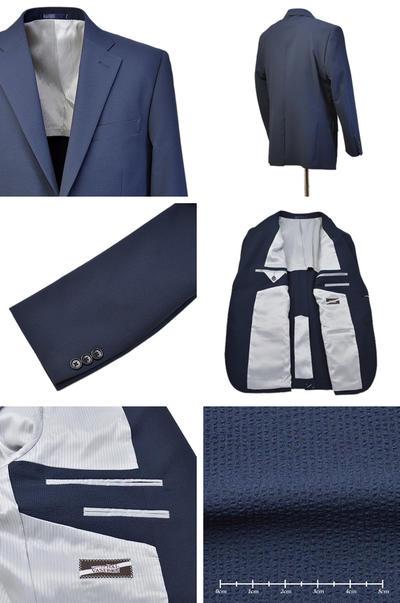 【春夏物】Bespoke Tailor GUY シングル2Bジャケット