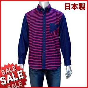 【秋冬物】GS. SPORTS ボタンダウンカジュアルシャツ