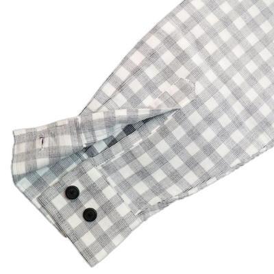 ORCLUBマイターカラーボタンダウンカジュアルシャツ