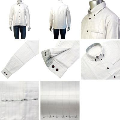 【春夏物】OR CLUB ボタンダウンカラーカジュアルシャツ