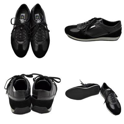 PAGELO 本革 革靴 スニーカー カジュアル レザーシューズ メンズ