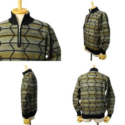 GRANSIGNORE ジップアップセーター