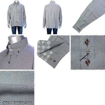 LAZY HILLS ドゥエボットーニボタンダウンカラーシャツ