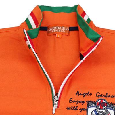 ANGELO GARBASUS ジップ付きロングTシャツ