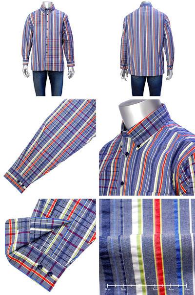 【春夏物】LAZY HILLS ボタンダウンカラーシャツ