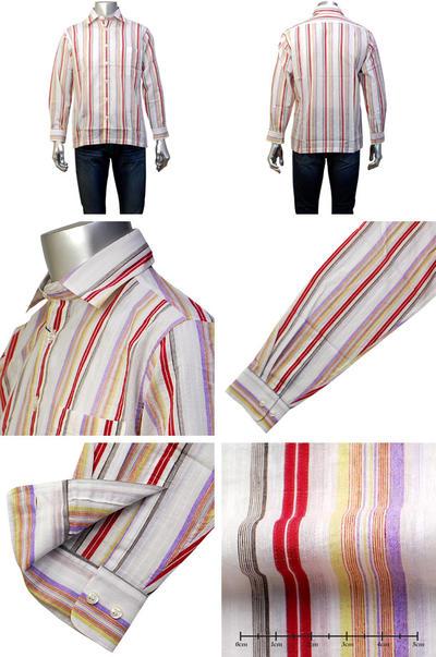 【春夏物】LAZY HILLS ボタンダウンカジュアルシャツ