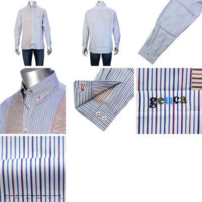 GENCAボタンダウンカラーシャツ