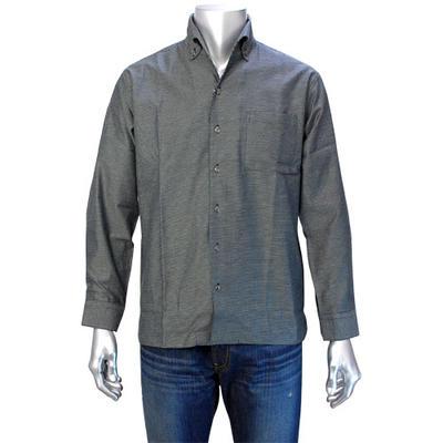 LAZY HILLS イタリアンカラーボタンダウンシャツ