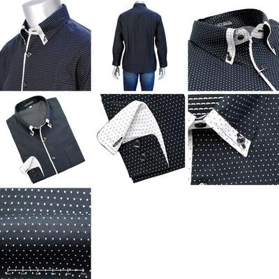 LAZY HILLS マイターボタンダウンカラーシャツ