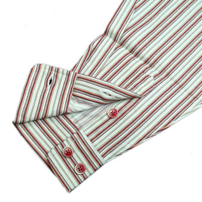 GENCAボタンダウンカジュアルシャツ