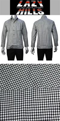 LAZY HILLS 2枚衿イタリアンボタンダウンシャツ
