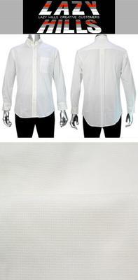 LAZY HILLS ボタンダウンニットシャツ