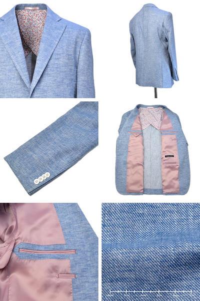 【春夏物】Vittorio Carini 2Bシングルジャケット