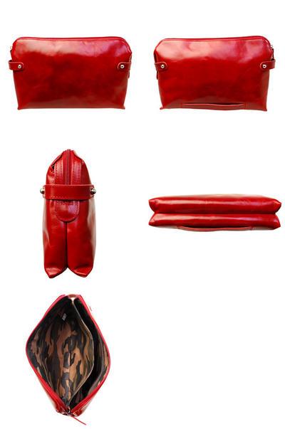 Agis M&R 本革 持ち手付きクラッチバッグ/セカンドバッグ