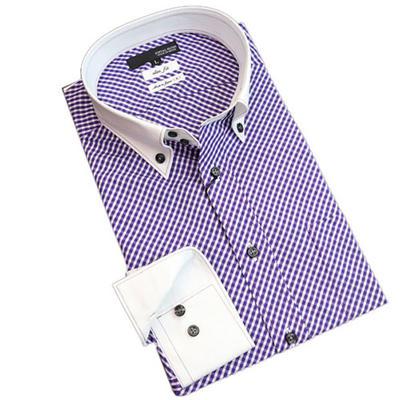 JOVIAL RUSH クレリックドゥエボットーニボタンダウンドレスシャツ