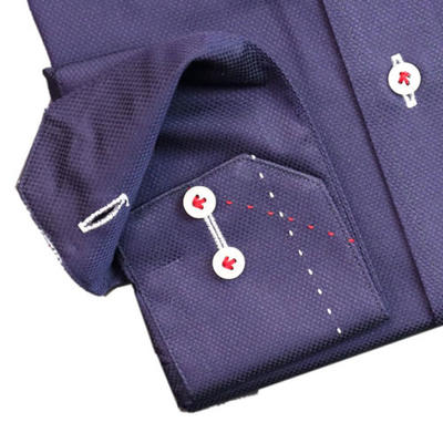 JOVIAL RUSH ワイドスプレットドゥエボットーニボタンダウンドレスシャツ