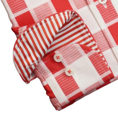 JOVIAL RUSH ワイドカラードゥエボットーニボタンダウンドレスシャツ