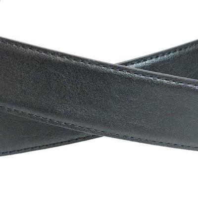 Inceptionトップ式バックル牛革ベルト