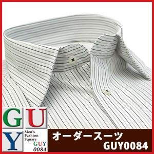 【標準シルエット】Bespoke Tailor GUY セミワイドカラードレスシャツ/Yシャツ
