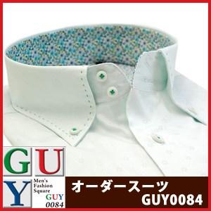 【やや細身シルエット】Bespoke Tailor GUY ドゥエボットーニボタンダウンカラードレスシャツ/Yシャツ