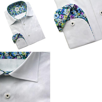 Bespoke Tailor GUY ワイドカラードレスシャツ/Yシャツ