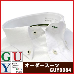 【標準シルエット】HIROKO KOSHINOHOMME ボタンダウンカラードレスシャツ/Yシャツ
