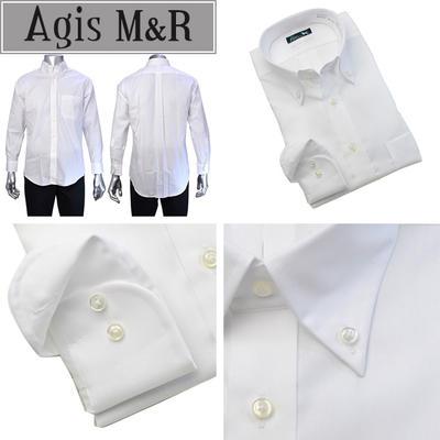 Agis M&R ボタンダウンドレスシャツ/Yシャツ