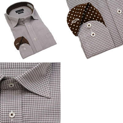 Bespoke Tailor GUY セミワイドカラードレスシャツ Yシャツ