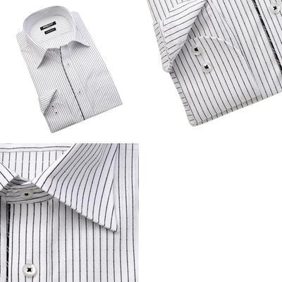 MICHIKO LONDON KOSHINO セミワイドカラーカラードレスシャツ