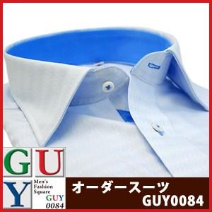 【やや細身シルエット】Bespoke Tailor GUY セミワイドカラードレスシャツ/Yシャツ