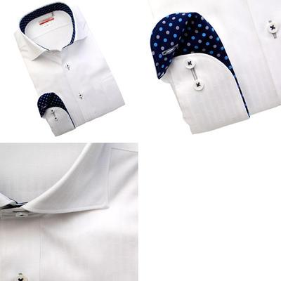 Bespoke Tailor GUY ワイドスプレットカラードレスシャツ/Yシャツ