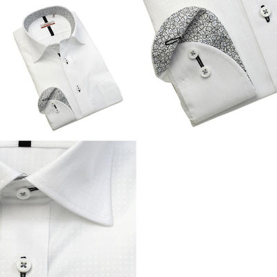 Bespoke Tailor GUY セミワイドカラードレスシャツ/Yシャツ