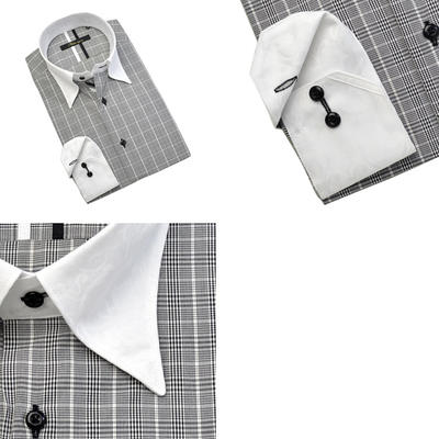 Bespoke Tailor GUY クレリックスナップダウンドレスシャツ/Yシャツ