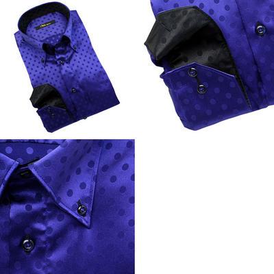 Bespoke Tailor GUY ボタンダウンカラードレスシャツ/Yシャツ
