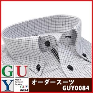 【4Lサイズ】Bespoke Tailor GUY ボタンダウンドレスシャツ/Yシャツ
