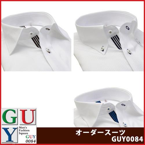 Bespoke Tailor GUYワイドカラー ボタンダウン ドレスシャツ/Yシャツ
