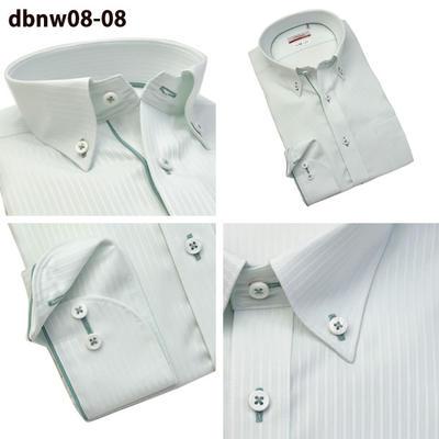Bespoke Tailor GUYクレリック ワイドカラー ボタンダウン ドレスシャツ/Yシャツ
