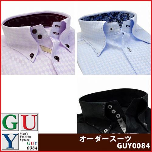 Bespoke Tailor GUYレギュラー ドゥエボットーニ トレボットーニ ボタンダウン ドレスシャツ/Yシャツ
